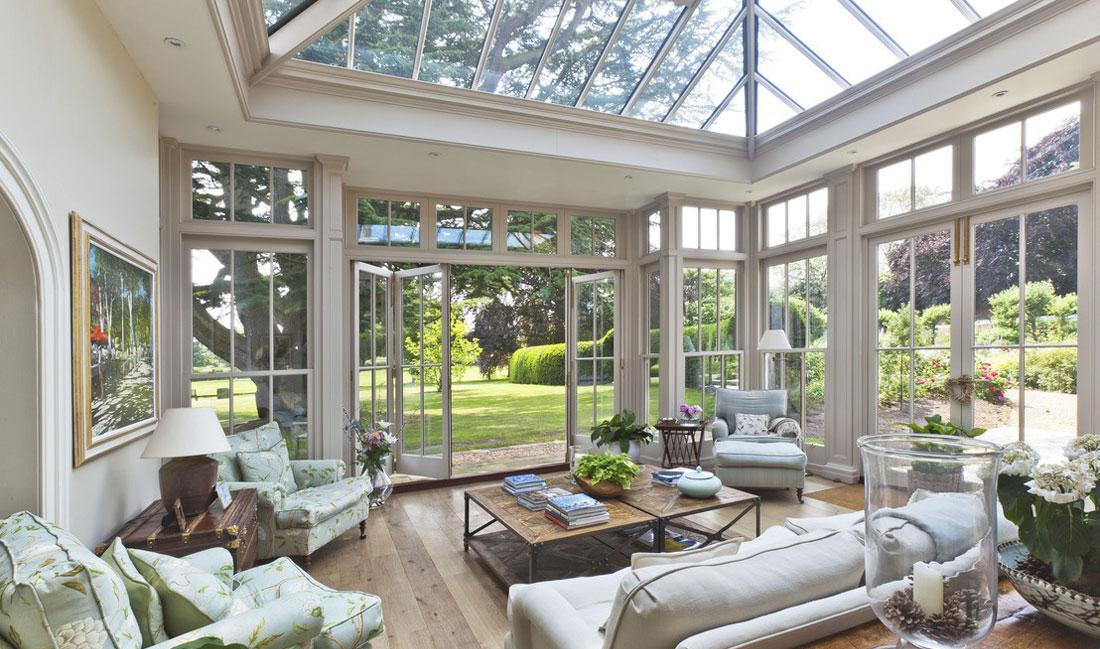 Divani anni americani idee per il design della casa - Arredare giardino d inverno ...