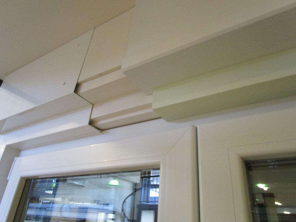 La posa in opera del serramento serramenti prelz - Montaggio finestre pvc ...
